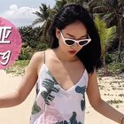 三亚vlog 看到海滩就兴奋呀!不会游泳玩玩水也超开心哒~ #穿秀##日志#