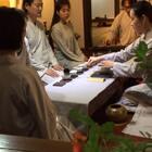 上海徐先生携夫人来书院体验长安雅士生活:听琴,品茶,寻幽探古。