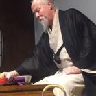 秀秀书院,长安雅士薛佩生的朋友胡宗圆先生用抹茶招待大家。