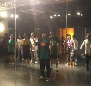 黄河AE教室街舞的美拍:#天津街舞#寒假班HIP天津图解图片