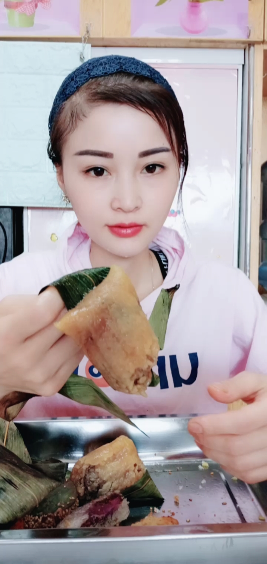 肉粽子 #吃秀##我要上热门@美拍小助手#