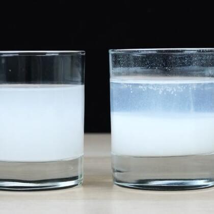 #手工#明矾净水实验效果特明显,陪孩子赶紧试试吧#明矾净水##科学小实验#