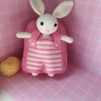 小兔子玩偶教程-31@美拍小助手 #手工#