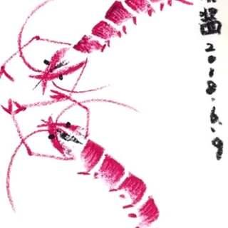 """""""蜡笔""""混搭""""水墨"""",另一种味道,另一种可爱~#水墨中国风##叨叨的绘画教室#"""