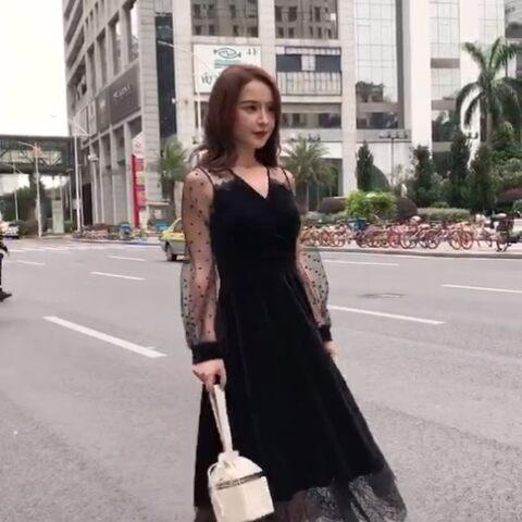 【陈琪瑶cherry美拍】新品女神裙