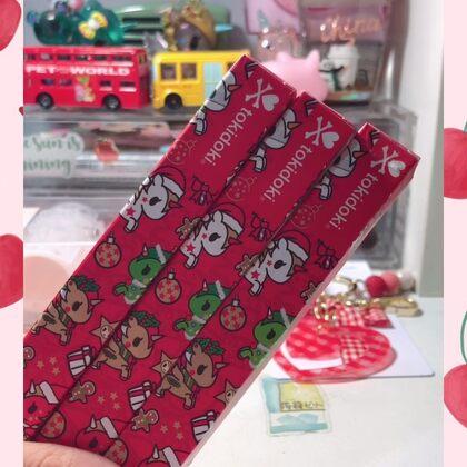 #拆盲盒#拆晨光和tokidoki合作的圣诞款盲盒??真的太好看了?。?!我还要去买?。?!??