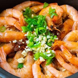 大虾这样做最鲜美,不炒不煮不加盐,比鱼肉鲜美,比火锅好吃#美食#