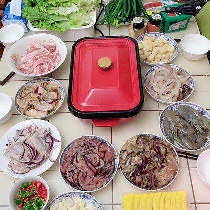 非常時期就別出去了,跟家踏實的烤肉吧??#吃秀#