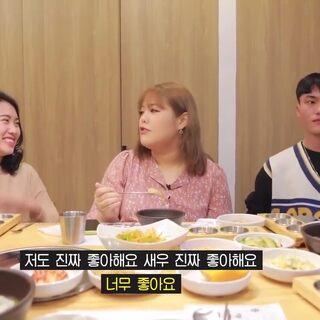 秀彬吃播~ 邀請越南粉絲吃韓餐#吃秀##韓國吃播##外網吃播#