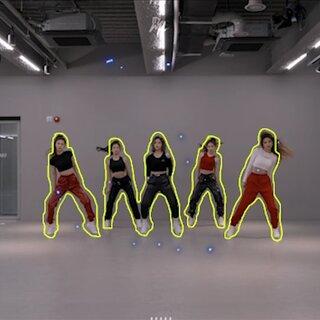#百萬舞蹈特效# ITZY超炫酷WANNABE百萬特效練習室超快爆肝 自己用ae做的,爆肝好久,就做了一分鐘!