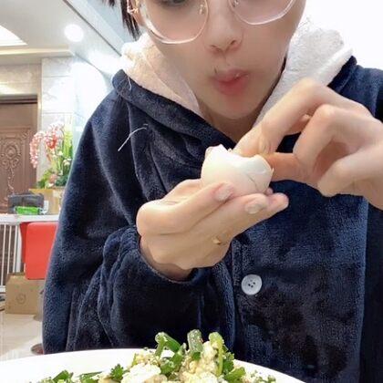 #小蔥拌豆腐#