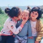 大家覺得三姐妹漂亮嗎???