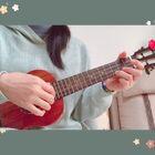 《送你一朵小紅花》#尤克里里弹唱##2101桃子鱼仔ukulele弹唱任务#@桃子鱼仔ukulele