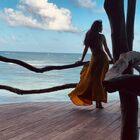 #墨西哥之旅##Azulik#我定的是1w多RMB一晚的sea villa,也是这个酒店最火的户型!实至名归的顶级酒店,风景真的是无敌了,随手拍都是大片,谢谢强哥汗水湿透了衣服还在帮我拍摄,真的是暴晒?闷热潮湿,这个酒店为了让你体验原始森林感觉,没有空调是一个致命问题??