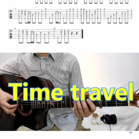 【曉銳指彈吉他美拍】編配的C調,省的特調