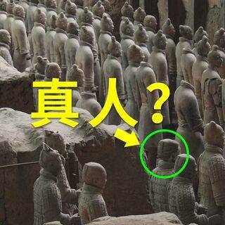 老外假扮兵馬俑跳進俑坑!思考:博物館存在的意義是什么?#我要上熱門##國際博物館日#@美拍小助手