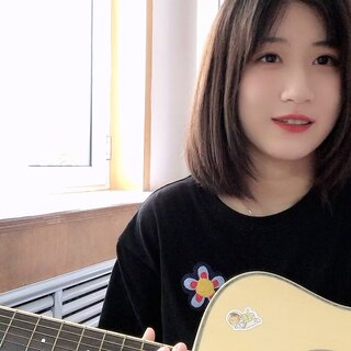#有你的快樂##吉他彈唱#