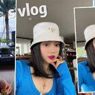 贊里送新品4色小衫~酒店度假的一天~拍新款(7.20上新)/深圳大梅沙京基洲際度假酒店 這一天除了拍照就是??早餐/下午茶/雞尾酒時光~ #芮妮的vlog##vlog#