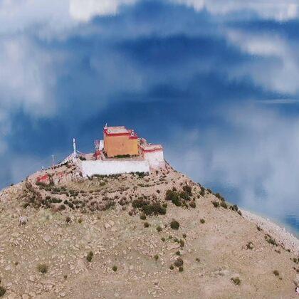 #全西藏最孤独寺院  一座孤岛·一位僧人·终其一生  ——日托寺 #西藏##自驾游##旅拍#
