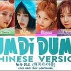 (G)I-DLE《DUMDi DUMDi》中文歌詞表,普通話還是蠻清晰的。沖鴨!#音樂##敏雅音樂#
