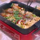 燕子特想吃这个做法的鱼,煮满满一锅全是我喜欢的,老公辣得哈哈#美食#