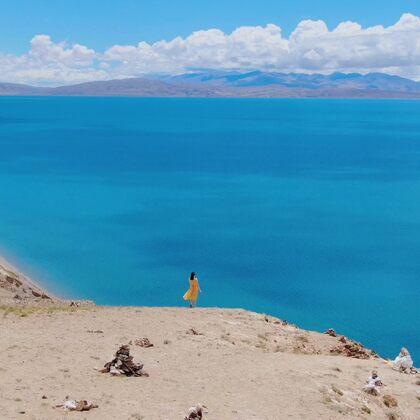 只有你看见的世界,才是对你有意义的存在。@美拍小助手  #八月你好##西藏旅拍##旅行#