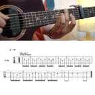 難度:★★★ 如何用一把吉他彈出伴奏音和旋律音?