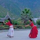 藏族舞蹈#卓玛泉#薇薇 黎儿