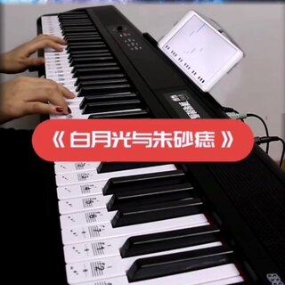 钢琴教练app连接电钢琴弹奏《白月光与朱砂痣》#钢琴##白月光与朱砂痣#