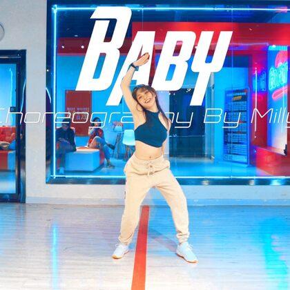 米莉编舞作品《Baby》#原创编舞##街舞##CUBE舞室#
