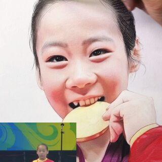 临时上场,稳稳落地,邓琳琳这一跳,看多少次都让人热血沸腾。#东京奥运会#